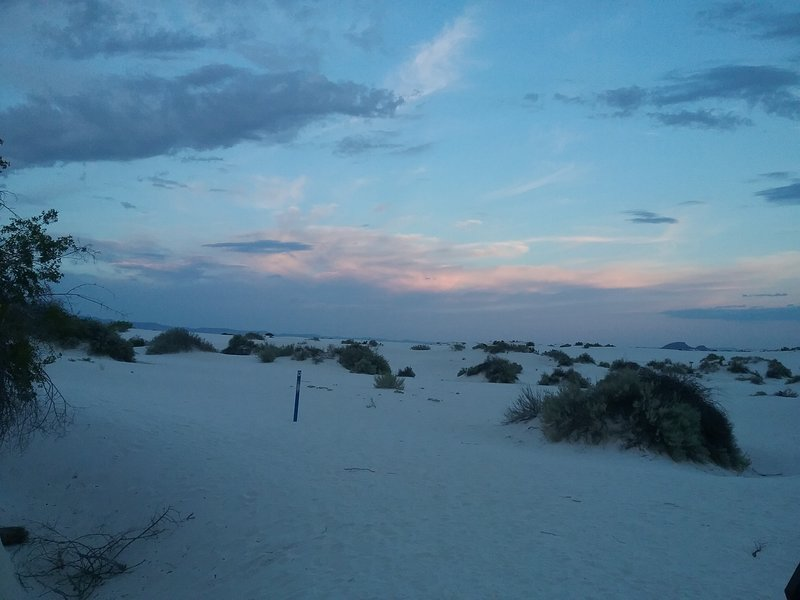 Sunset on thedunes