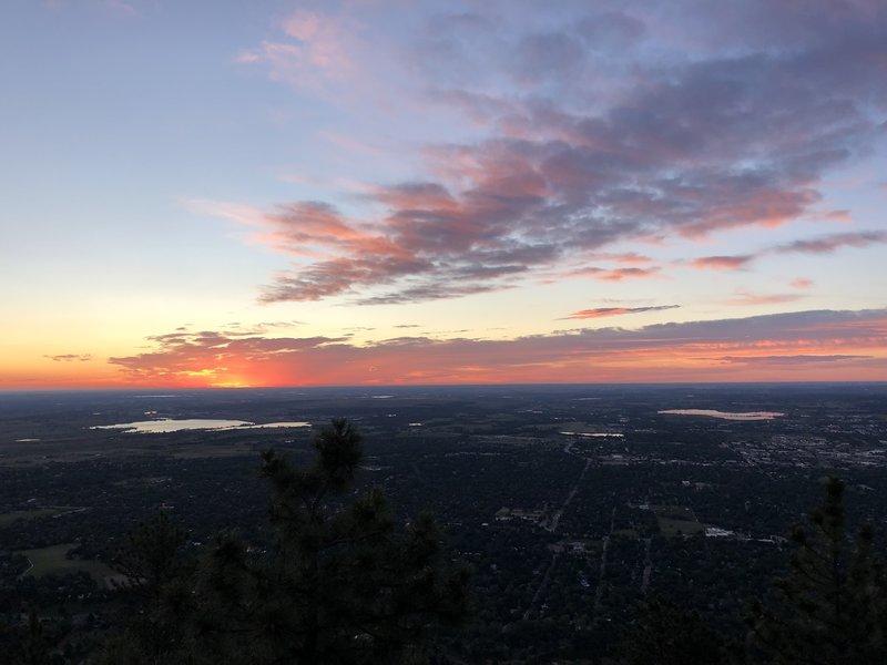 Sunrise (5:30).