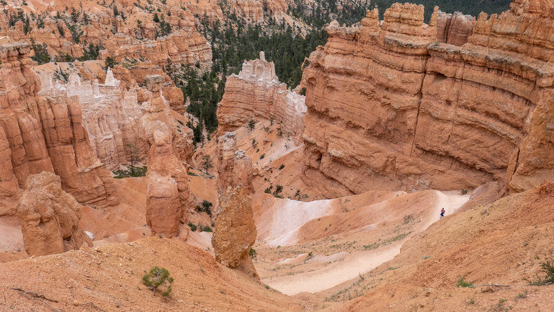 Hiking Bryce Canyon.