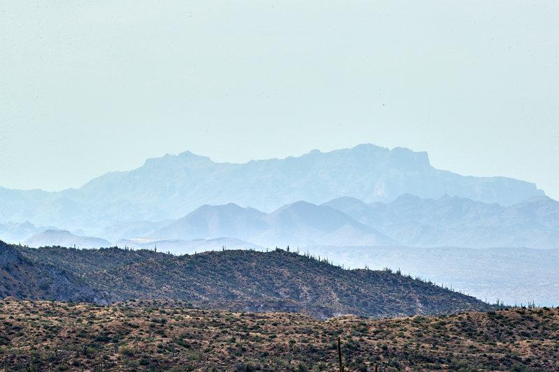 Views by Camp Creek.
