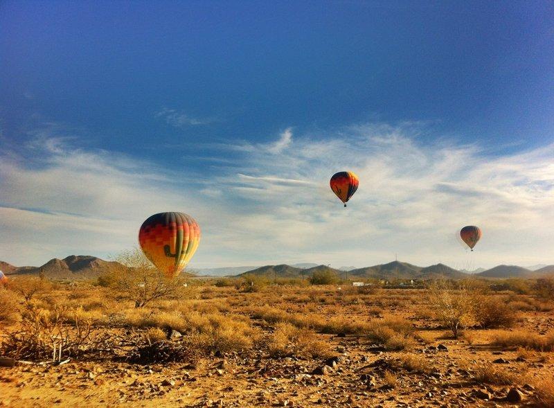 Ballooning in Arizona.