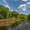 Minnesota River at Wita Tanka (Pike Island), Fort Snelling State Park, Minnesota.