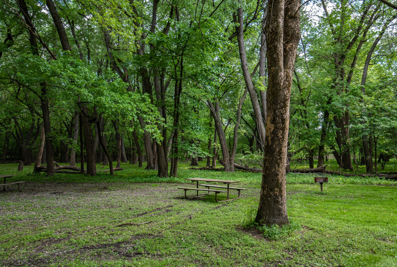 Picnic Island at Fort Snelling State Park, Minnesota