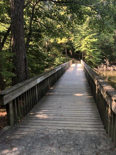 Noland Trail bridge.
