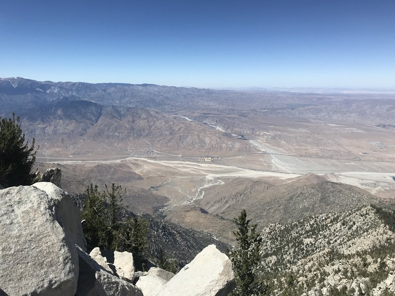 View from the summit, mid-July.