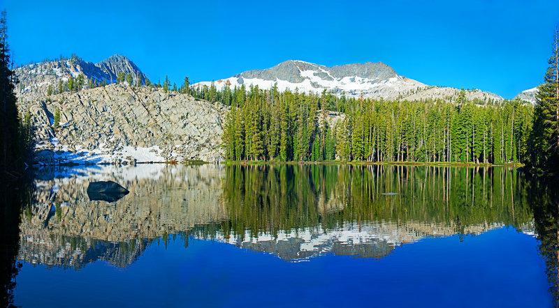 Lower Lady Lake and Madera Peak