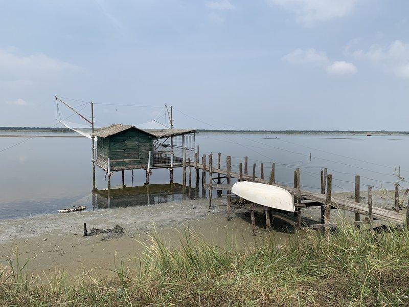 Fishermans hut.