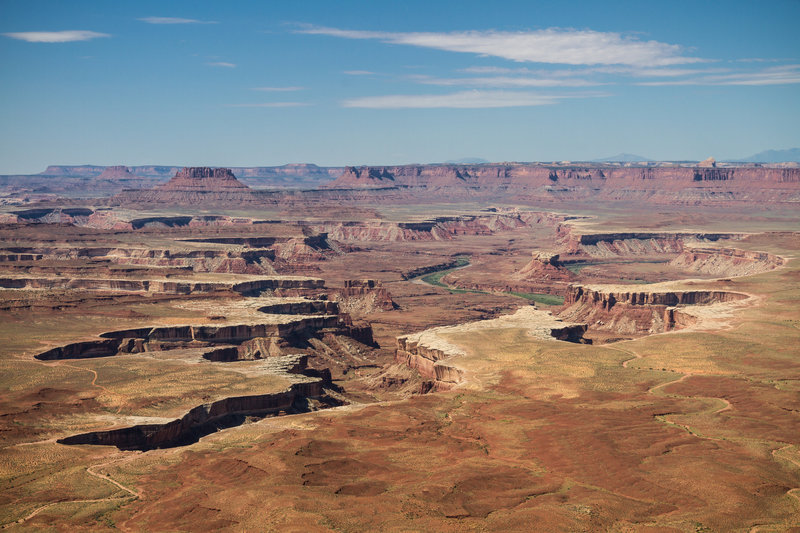 The astounding view from the Green River Overlook.
