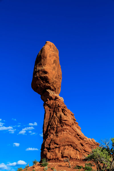 Balanced Rock doing its thing - balancing.