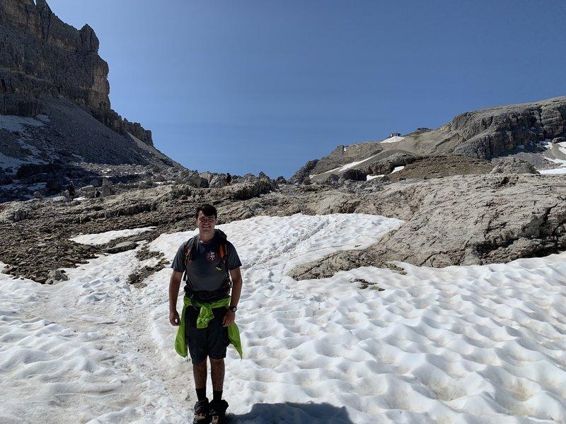 Rifugio Lagazuoi climb.