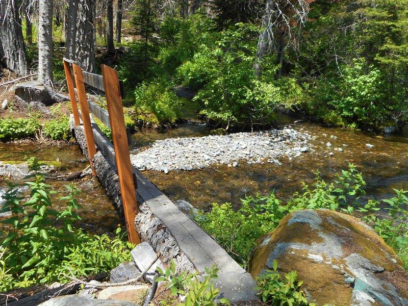 Bridge at first creek crossing.