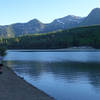 Fishing at Silver Lake Flat reservoir