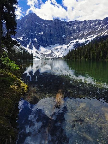 Rawson Lake and Mt. Sarrail.