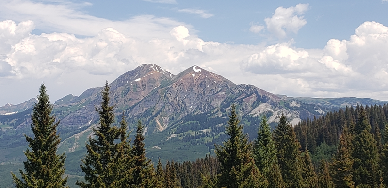 Beautiful view taken from Beckwith Pass via Beckwith Pass Trail.