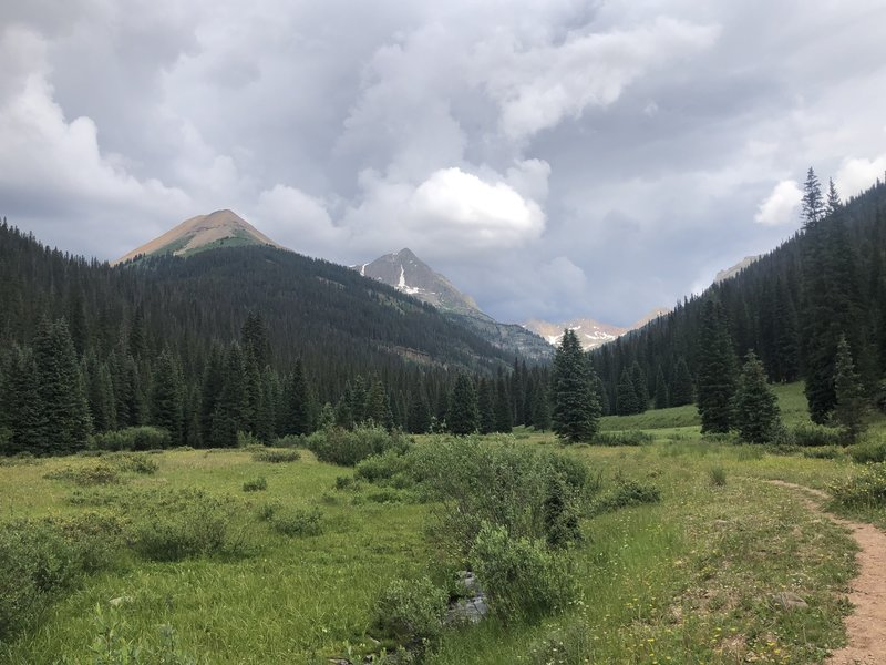 The view of Grizzly & Rolling Mountain