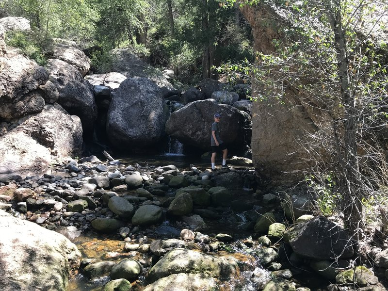 Side Creek on the hike.