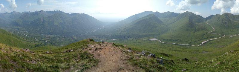 Halfway to Marmot Peak.