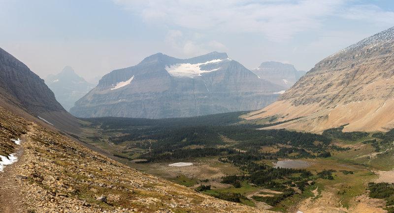 Piegan Mountain with Piegan Glacier