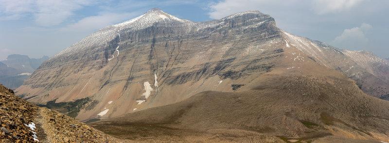 Mount Siyeh and Siyeh Pass