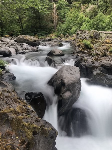 Salmon Cascades in Olympic National Park.