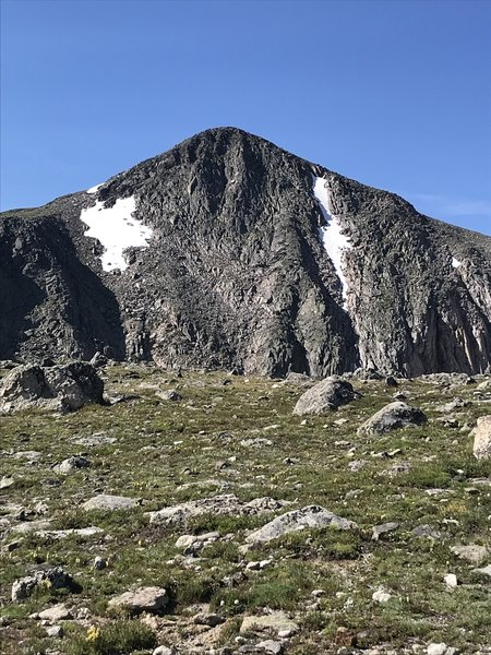 Hallet Peak  from the Flattop trail