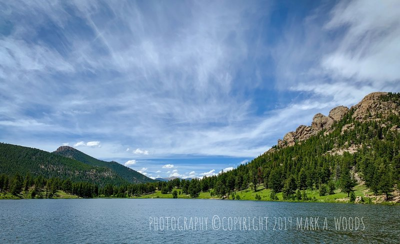 Lily Lake Trail, Rocky Mountain National Park. Estes Park, Colorado.