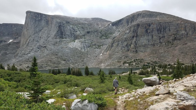 Reaching Lost Twin lakes