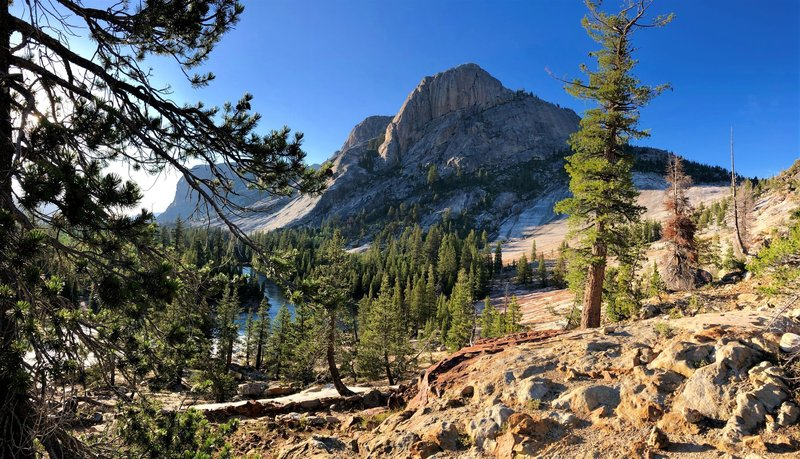 Once at Glen Aulin, don't miss the sunset view down the Grand Canyon of the Tuolumne.