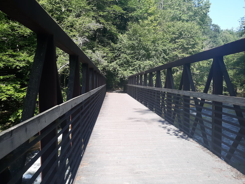 One of the many Trestles you'll cross on the Creeper.