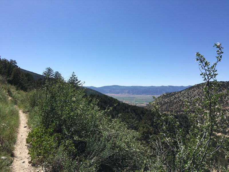 Sanpete Valley from Pioneer Trail
