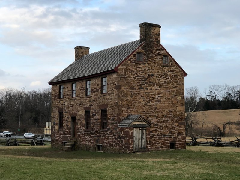 Stone House -- During both battles, Federals turned the former tavern into a field hospital.