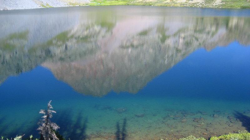 Reflection in Rock Lake