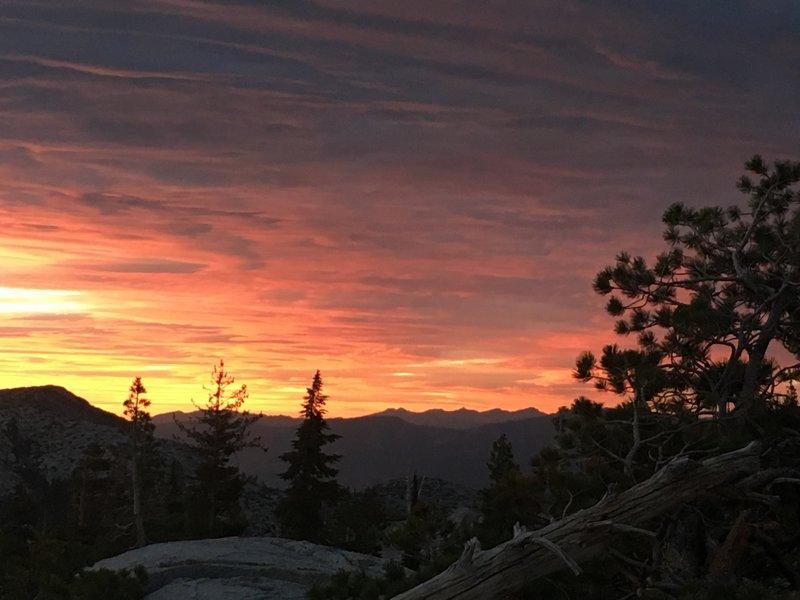 Sunset at Leland Lakes