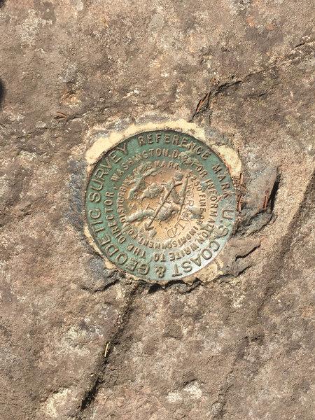 Flying Mountain Summit Marker
