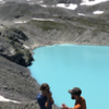 """She had to say """"yes"""" with a background like Lake Wildsee!"""