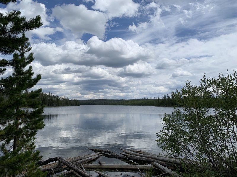 View of Ice Lake from trail