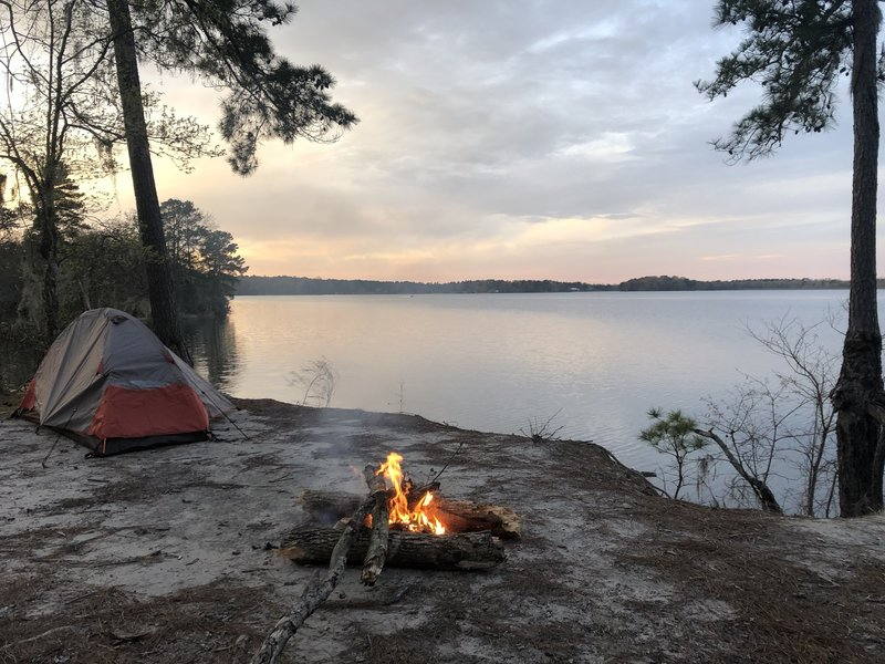 Best camping spot on the trail!