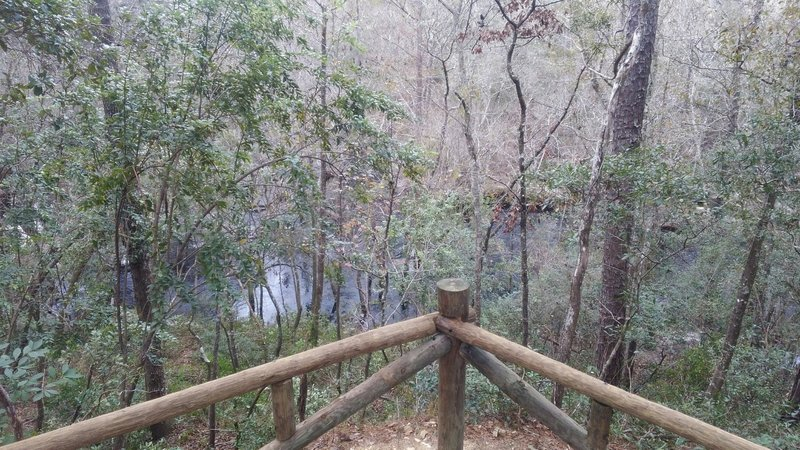Overlooking North Fork of Black Creek