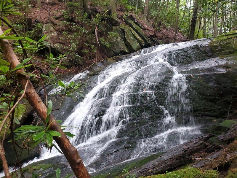 Waterfall along Mountain Creek.