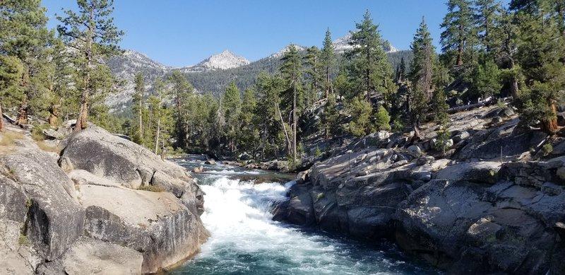 Creek view.