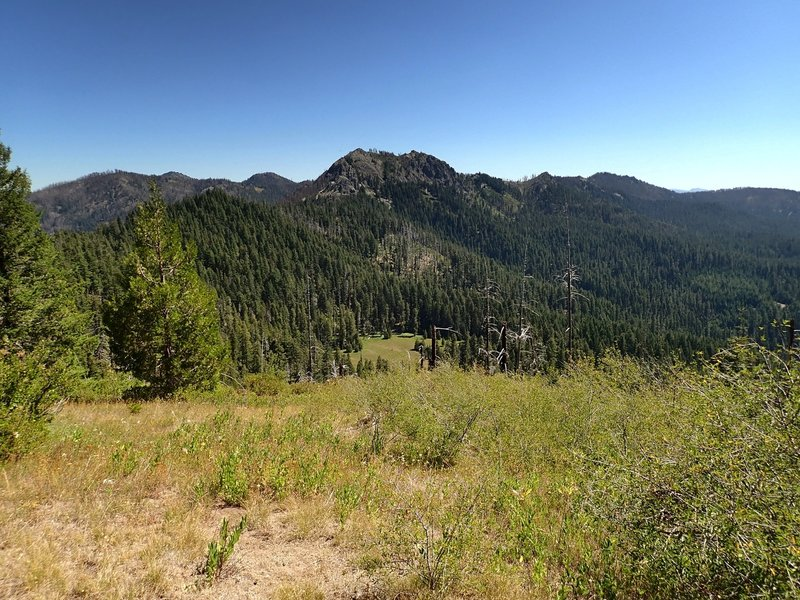 Highrock Mountain from Grasshopper Mountain.