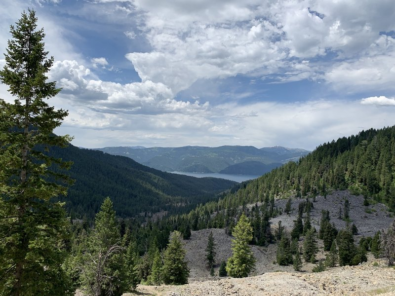 Looking south out of Blowout Canyon