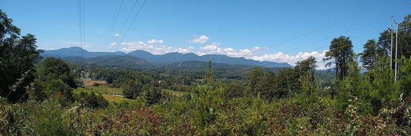 View from the powerlines