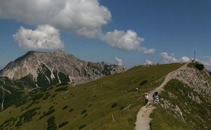 Beautiful high alpine views from the Princess Gina Trail