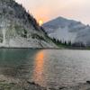 Dean Lake Sunset