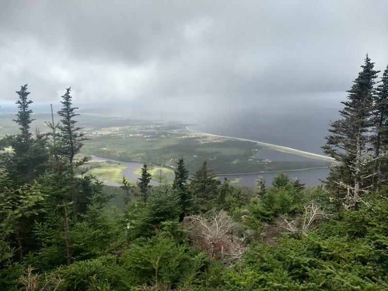 View toward Cheticamp and Petit Etang.