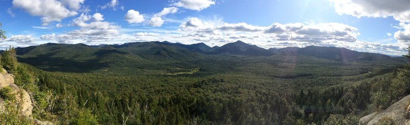 View off the first ledge on Mt Van Hoevenberg