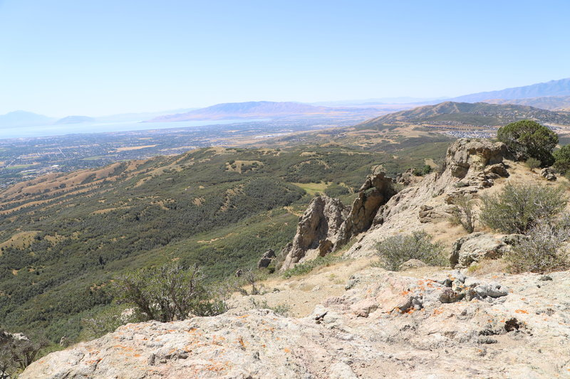 This is the view from Lone Rock.