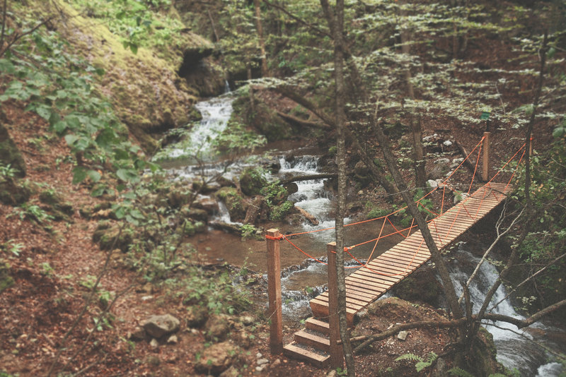This 9-meter bridge will allow the nature lovers to see the Hidden Waterfall.