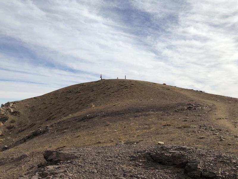 Looking towards Cerro Provincia.